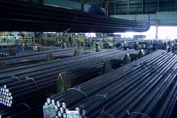愛知製鋼知多工場の出荷